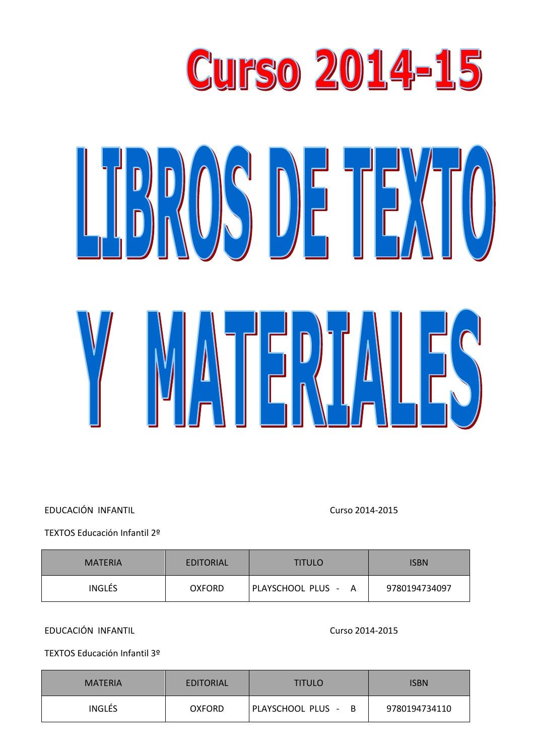 Libros Oxford Ingles Libros De Texto Curso 2014 15 Web By Almozara 2014 Issuu