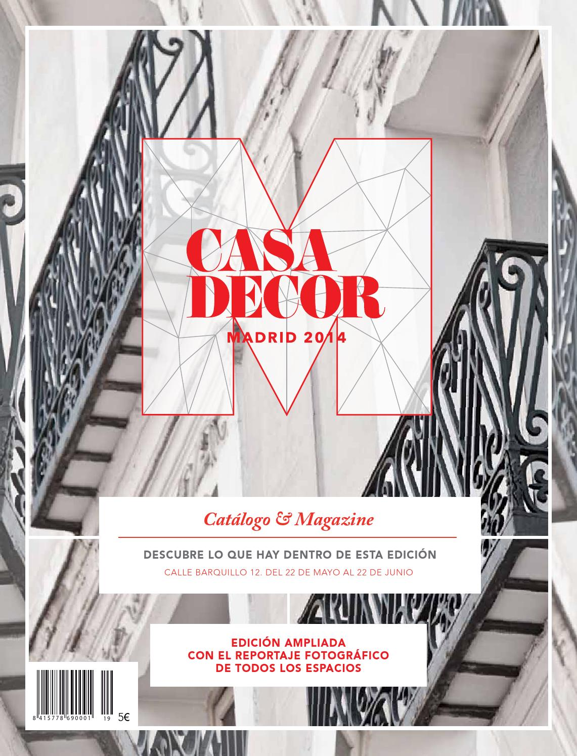 Muebles Martin Los Barrios Catalogo Catalogo Casa Decor Madrid 2014