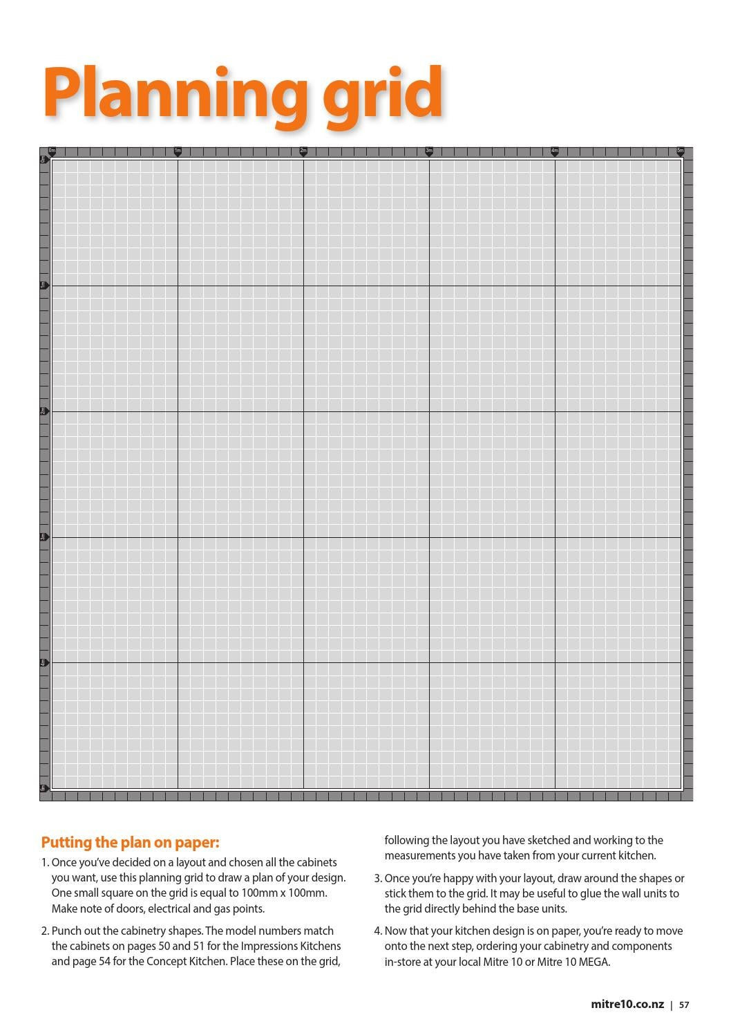 Kitchen Design Layout Graph Paper Kitchen Style 2015 Collection By Draftfcb Issuu