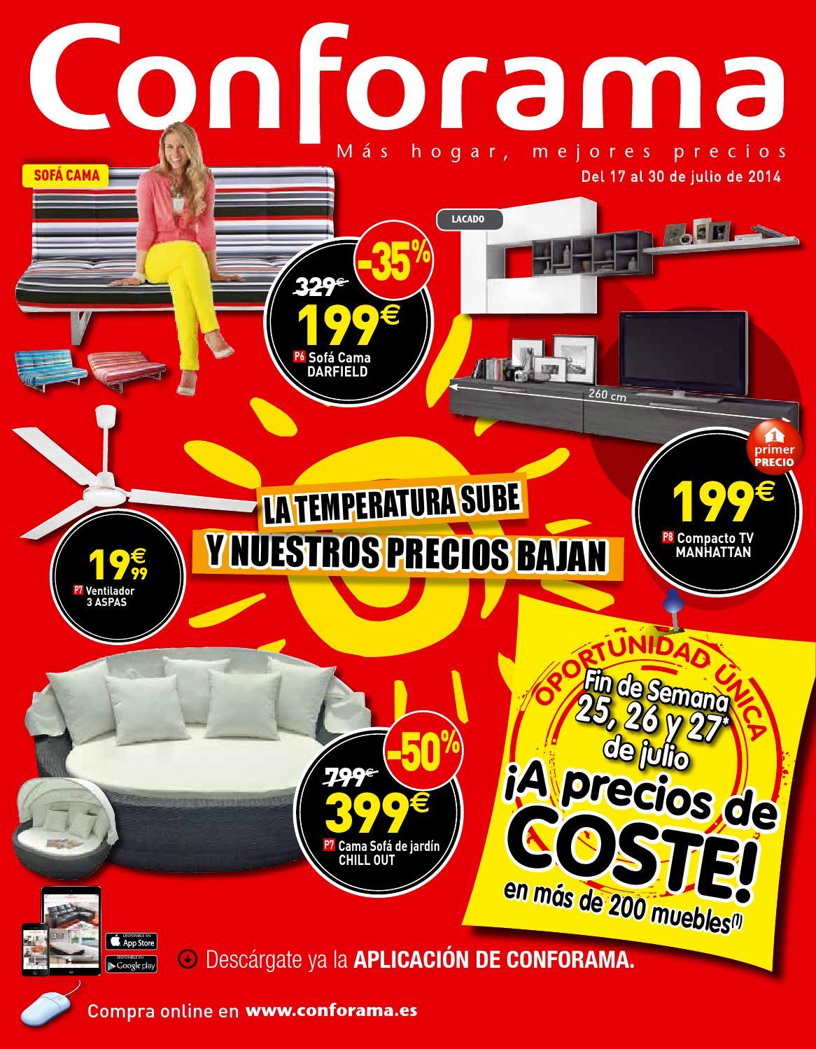 Conforama Bettsofa Argan Conforama By Losdescuentos Issuu