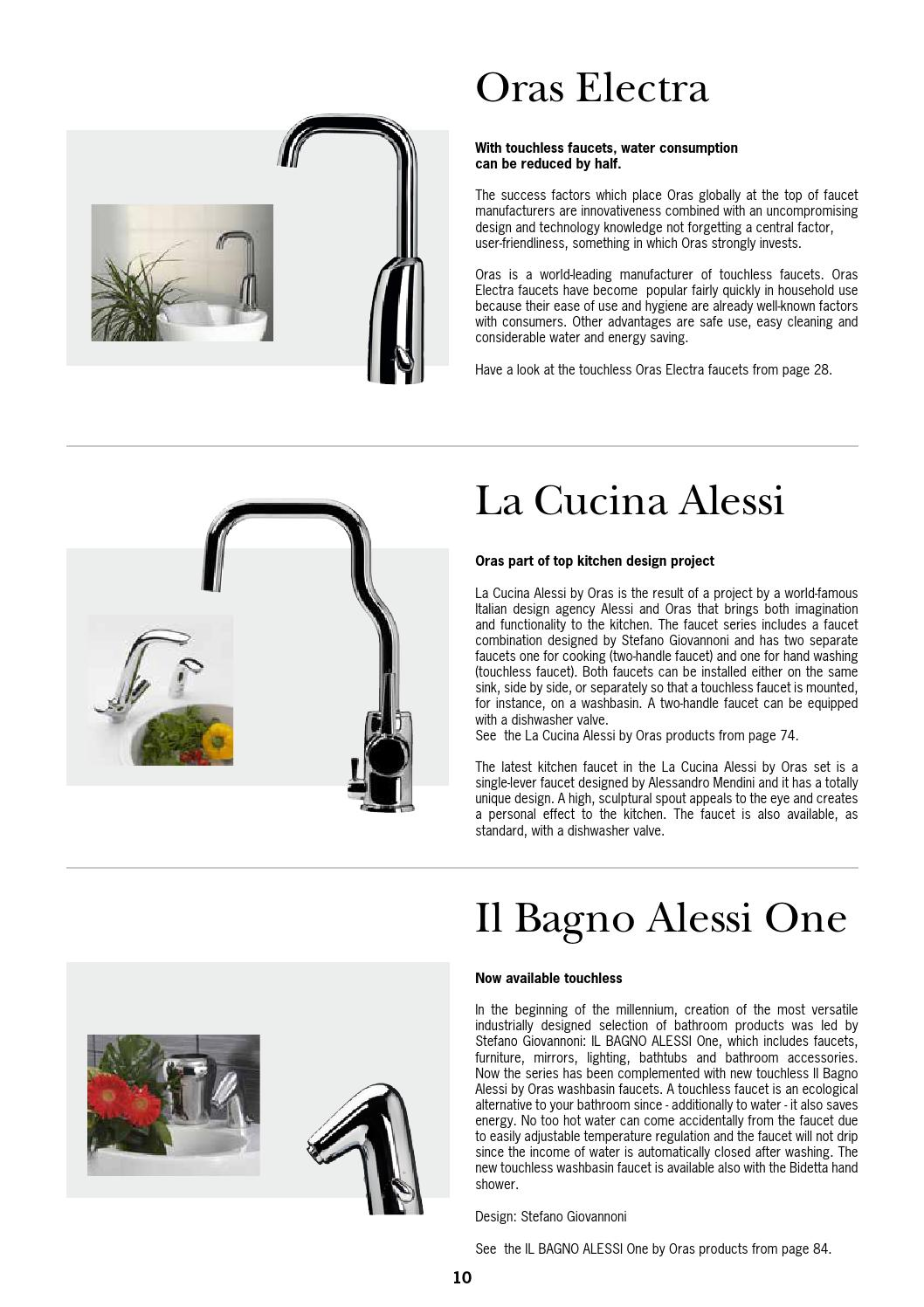 La Cucina Alessi Kitchens Oras Technic Catalogue 2014 By Iris Issuu