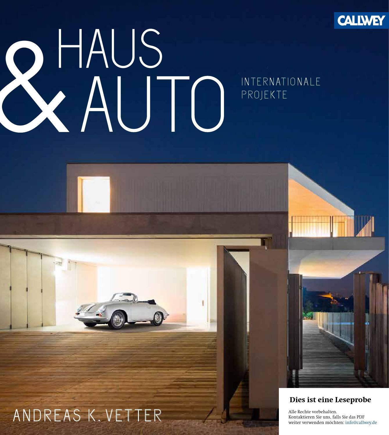 Fassadenverkleidung James Vetter Haus Und Auto Internationale Projekte Callwey Issuu By
