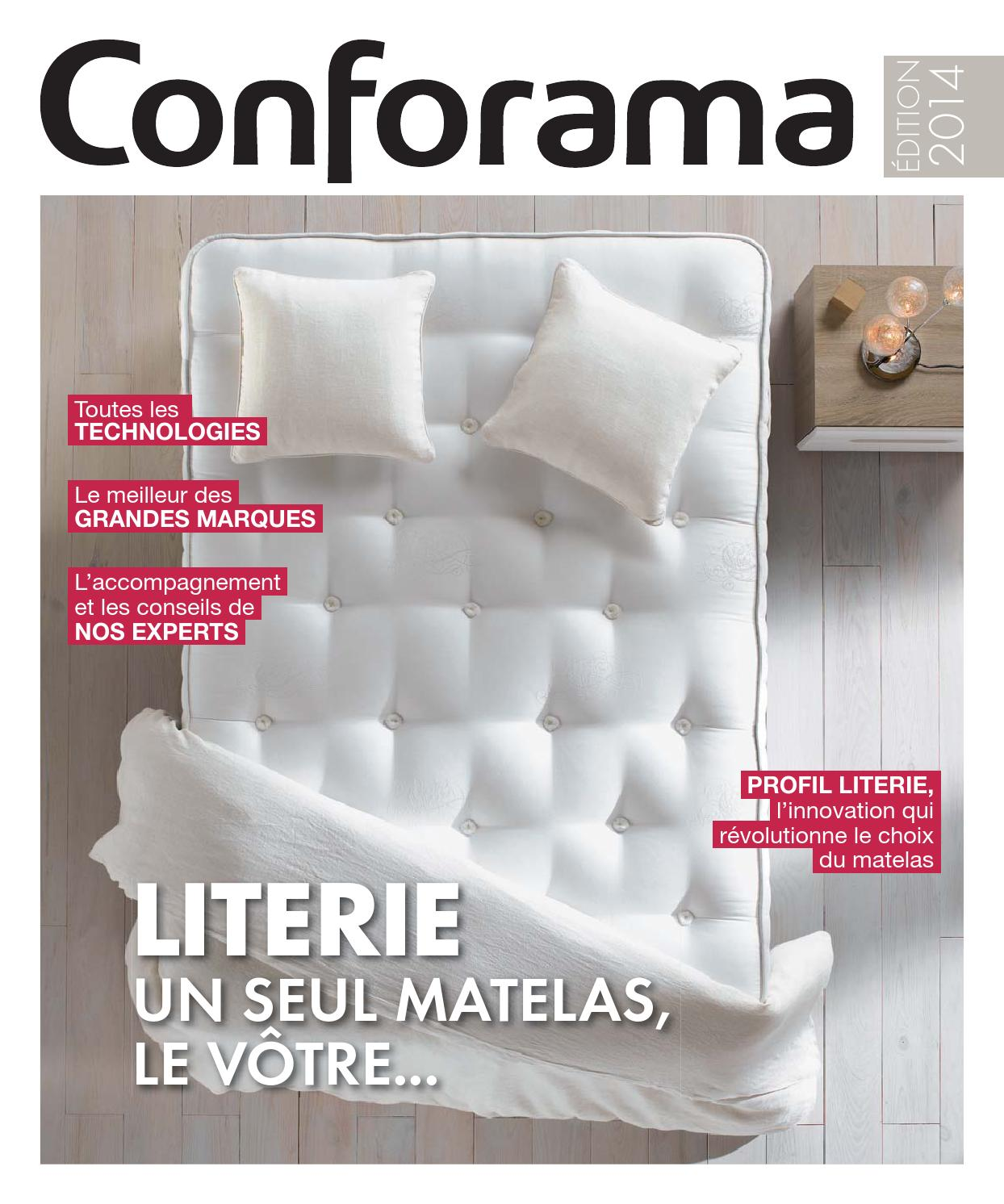 Matelas Ressorts Ensachés 160x200 Conforama Catalogue Conforama Guide Literie 2014 By Joe Monroe Issuu