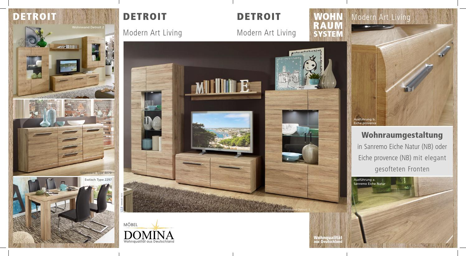 Sideboard Eiche Provence Detroit 8seiten By Boschung Moebel Issuu