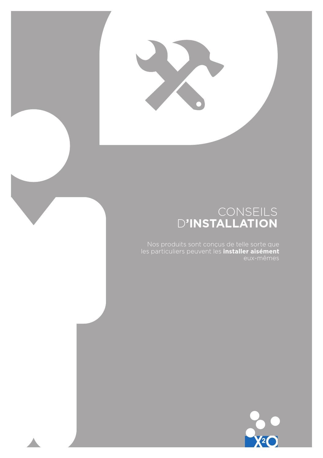 X2o Folder Conseils D Installation By X2o Sanitary Issuu