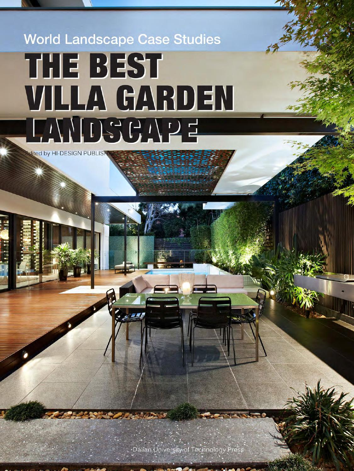 the best villa garden landscape