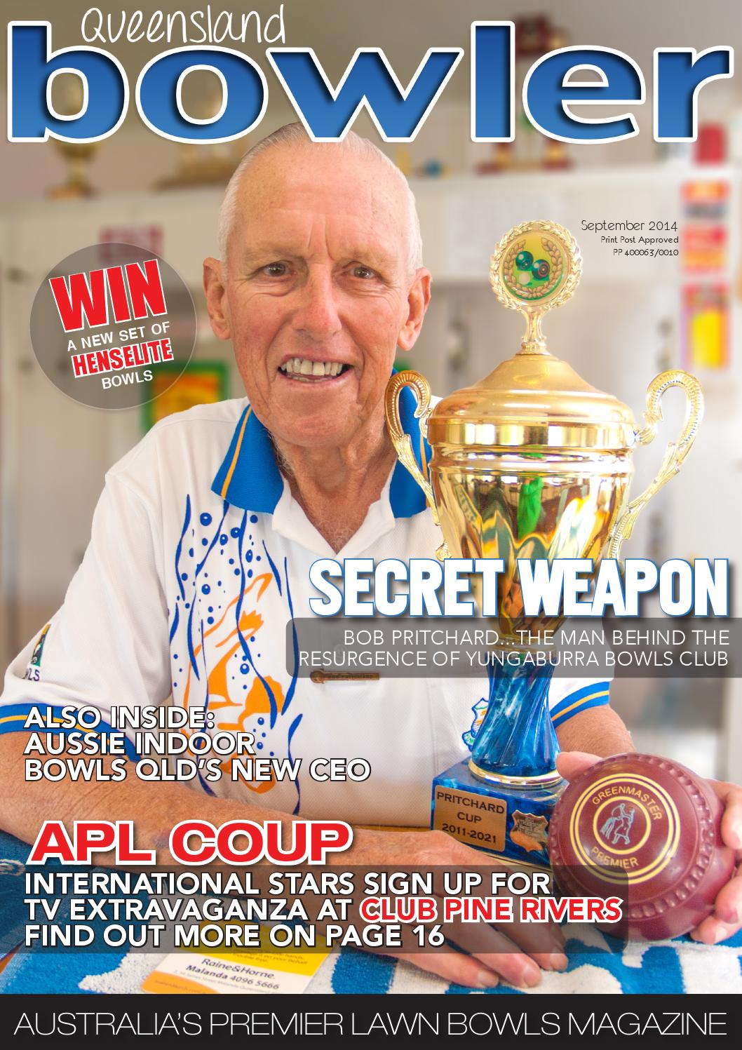 Bowls Qld September 2014 By Queensland Bowler Issuu