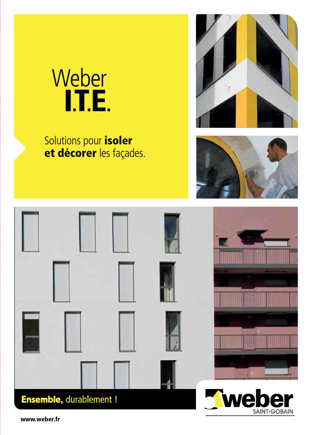 Nettoyant Facade Weber Brochure Ite 2014 By Weber Issuu