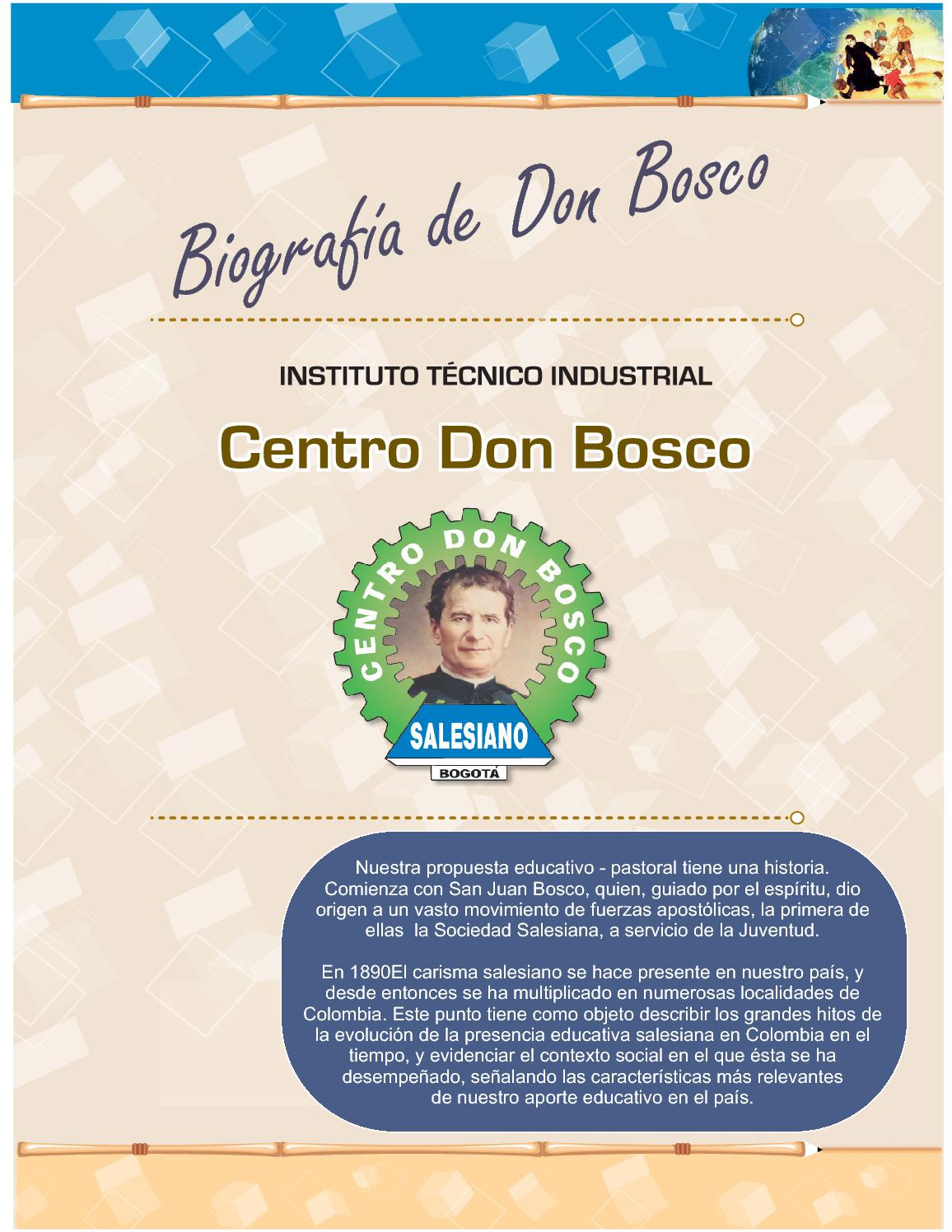 Libros De Don Bosco Biografía De Don Bosco By Centro Don Bosco Issuu