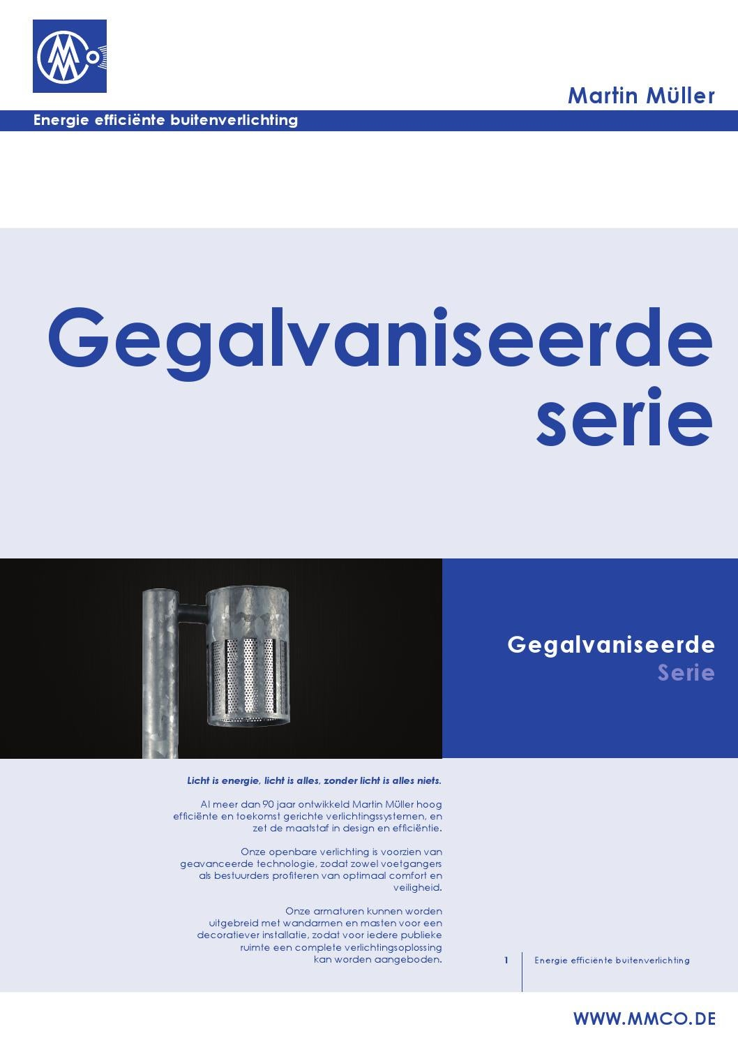 Martin Verlichting Folder Gegalvaniseerd By Jan Brinkerink Issuu