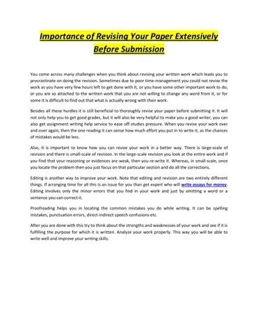 Write essays for money by brilliantassignment1 - issuu