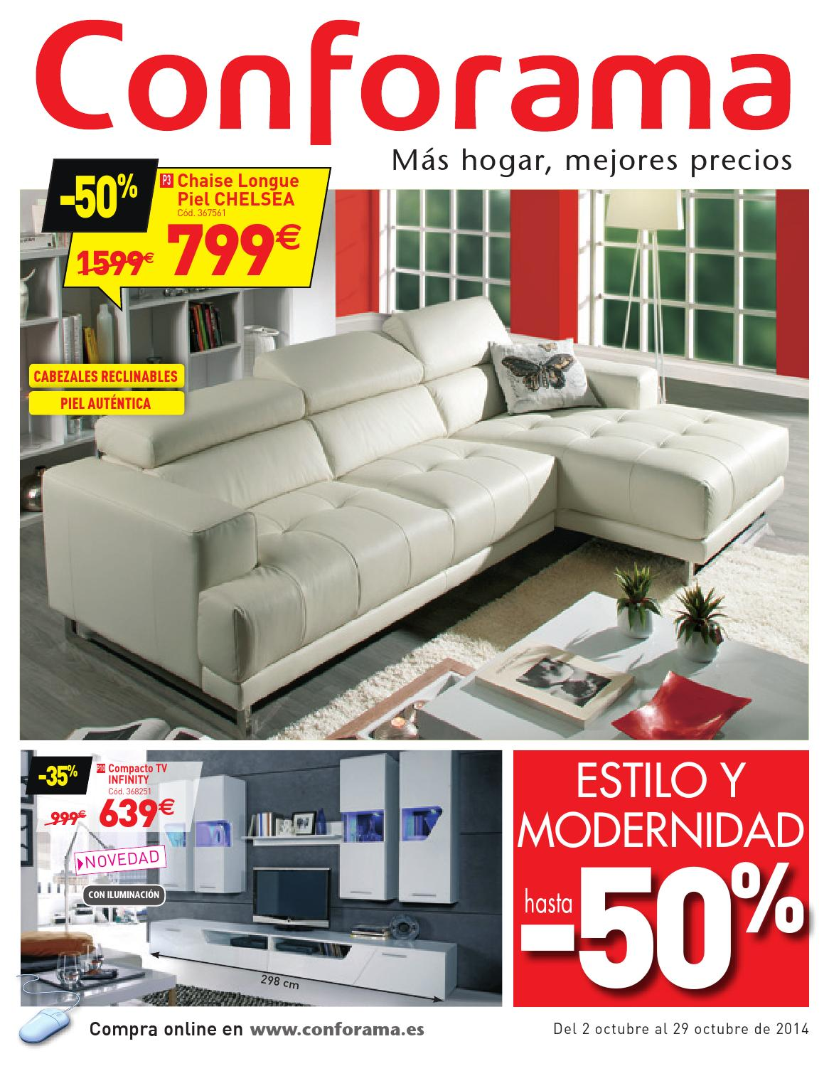 Conforama Bettsofa Argan Conforama Catalogo 2 29octubre2014 By Catalogopromociones Issuu