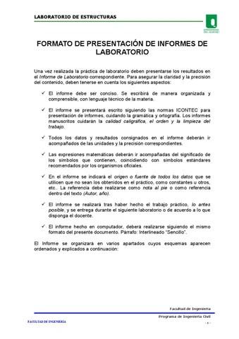 Formato de presentación de informes de laboratorio by Jefferson - issuu - formato de informe escrito