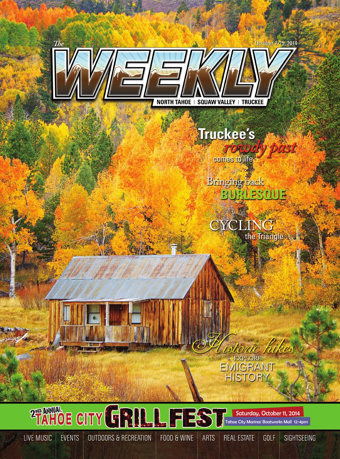 Cucina Restaurant Graeagle The Tahoe Weekly Oct 7 To Oct 15 2014 By Tahoe Weekly Issuu