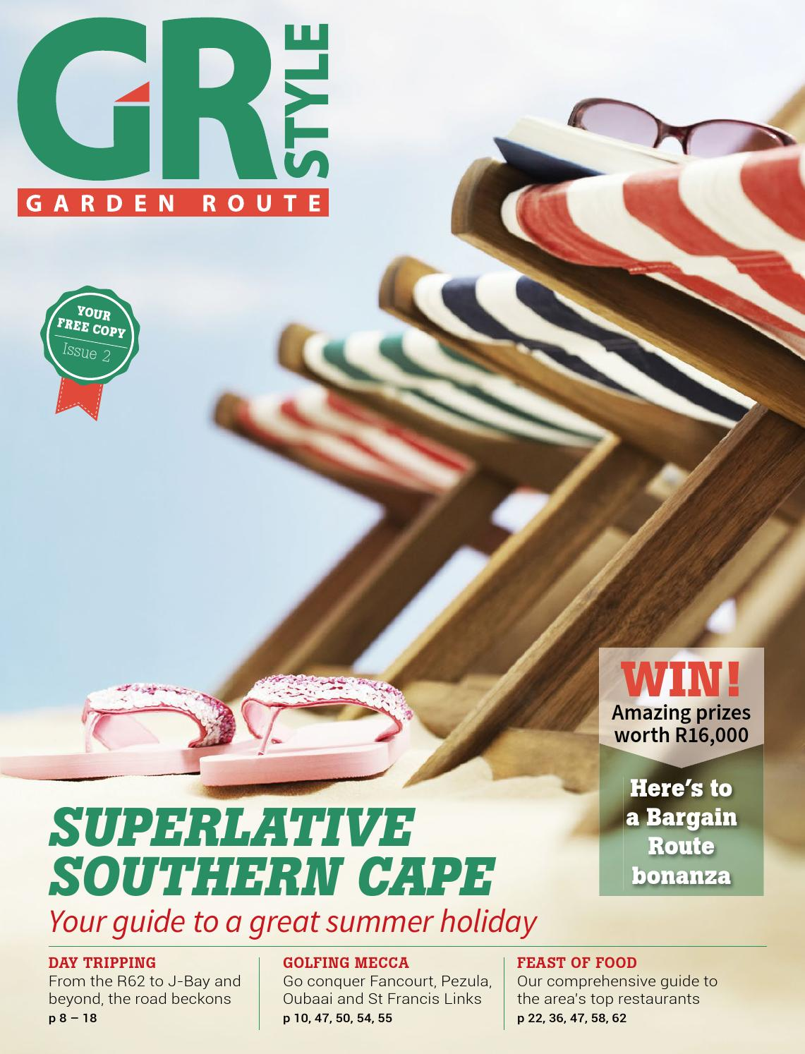 Cucina Restaurant Oubaai Menu Garden Route Style Supplement 2014 By Ballyhoo Media Issuu