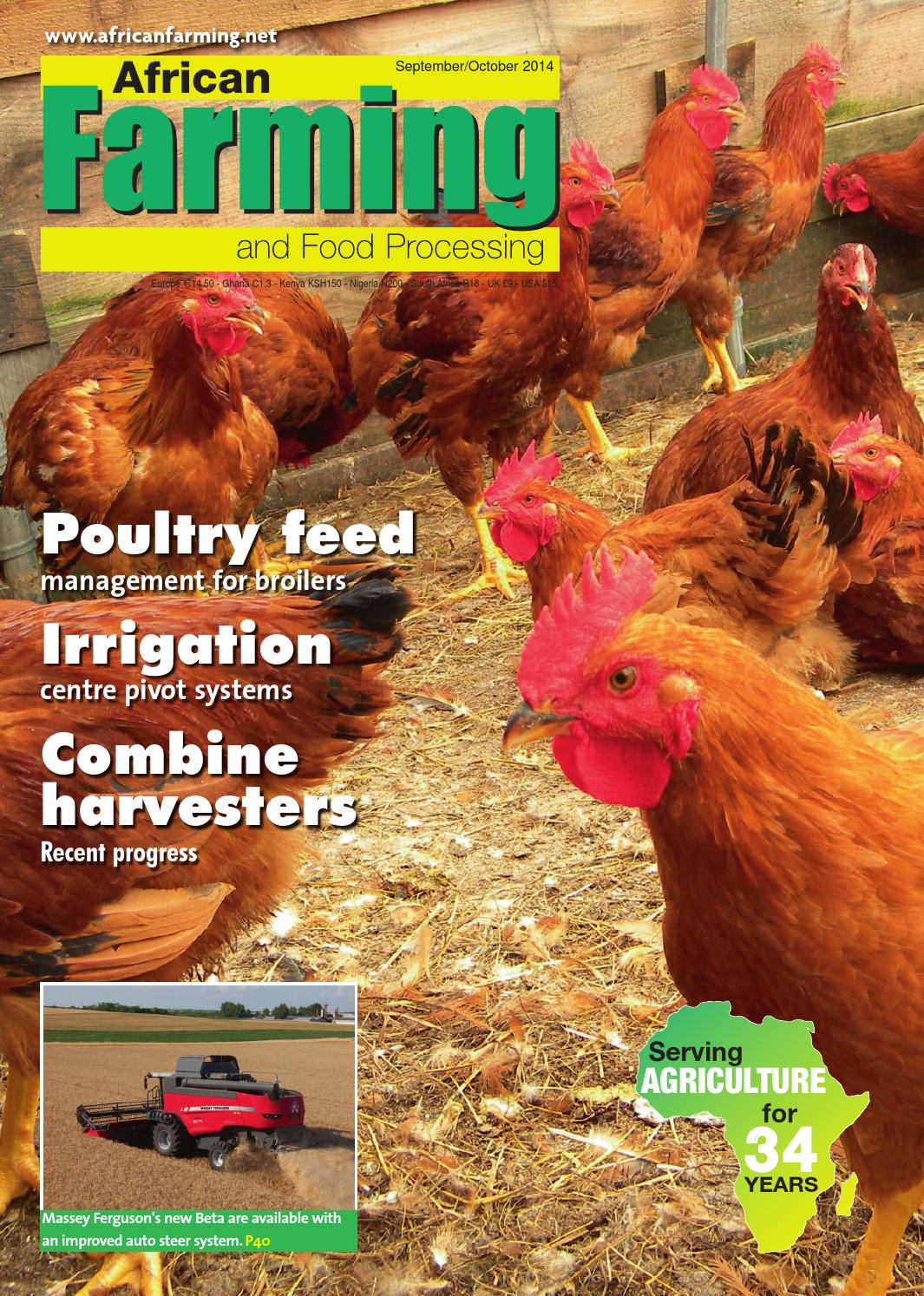 Weber Rooster 57 Cm African Farming Sept Oct 2014 By Alain Charles Publishing Issuu