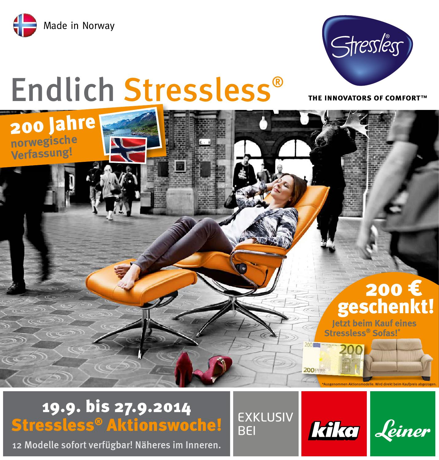 Stressless Kika Complete11 By Alle Angebote Issuu