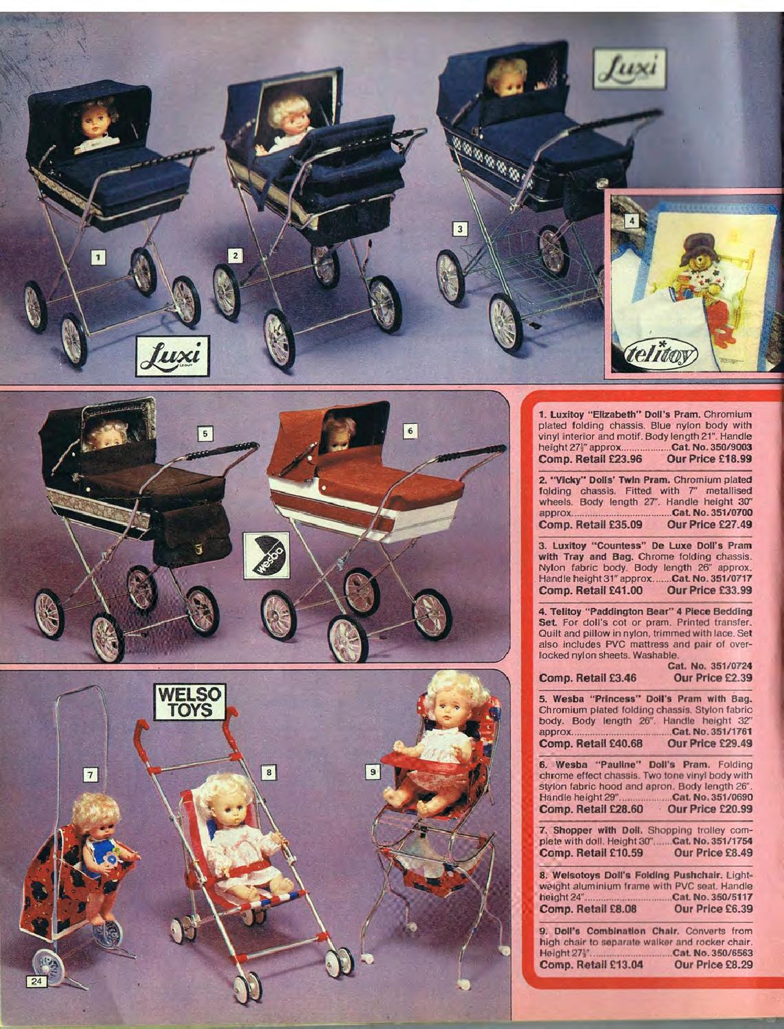 3 Wheel Prams Argos Argos No 12 1979 Autumn By Retromash Issuu