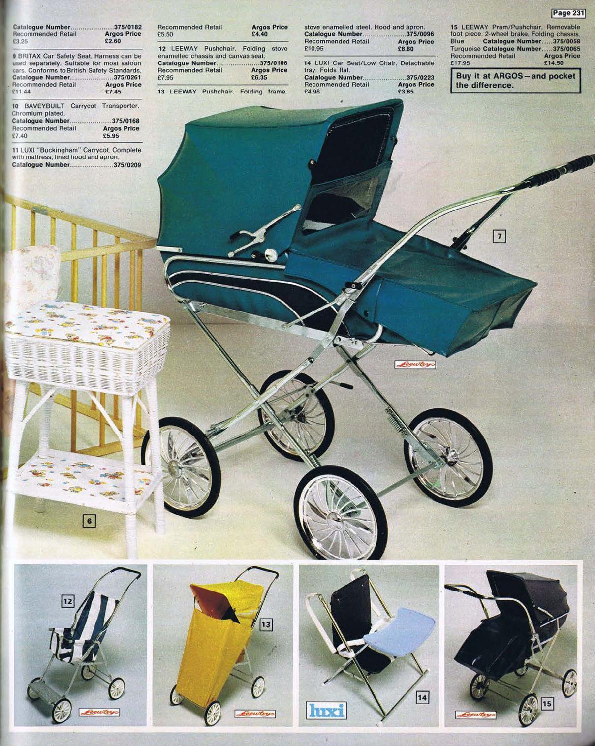 3 Wheel Prams Argos Argos No 01 1973 74 By Retromash Issuu