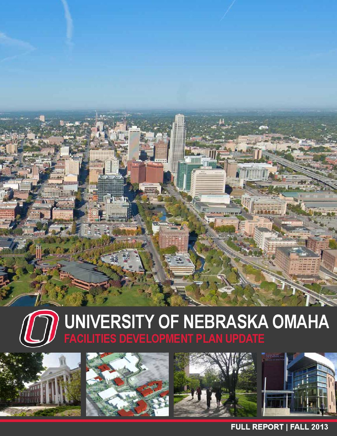 East Garage Uno University Of Nebraska Omaha Master Plan By Smithgroup Issuu
