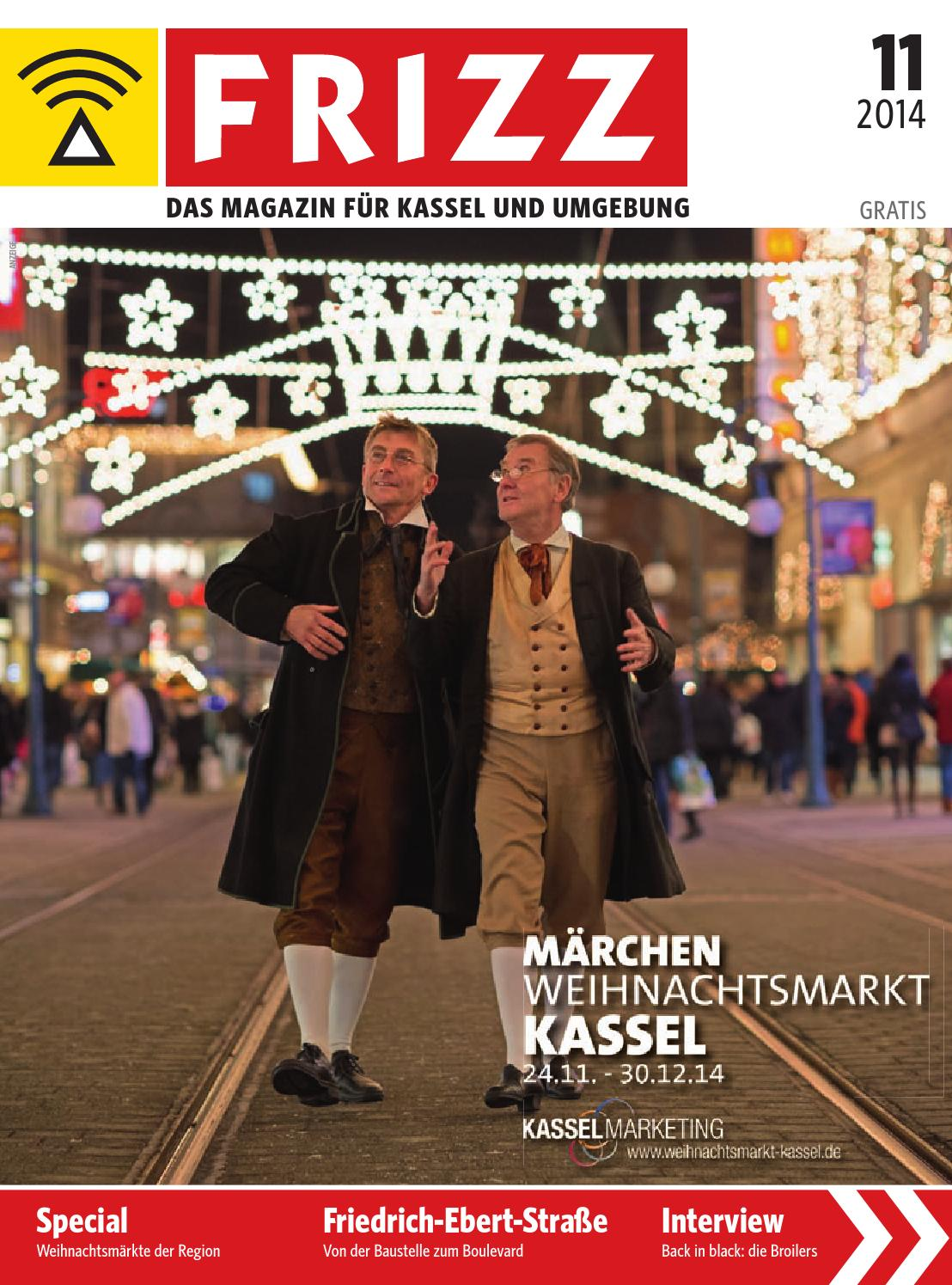 Göttingen Nach Kassel Frizz Das Magazin Kassel November 2014 By Frizz Kassel Issuu