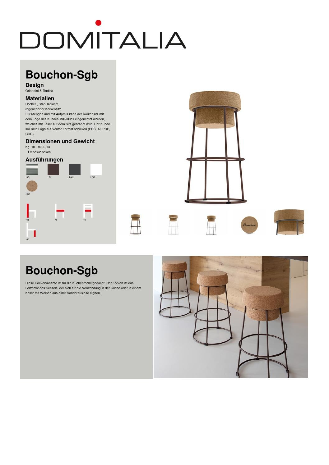 Hocker Küchentheke Bouchon Sgb By Toni Mulas - Issuu