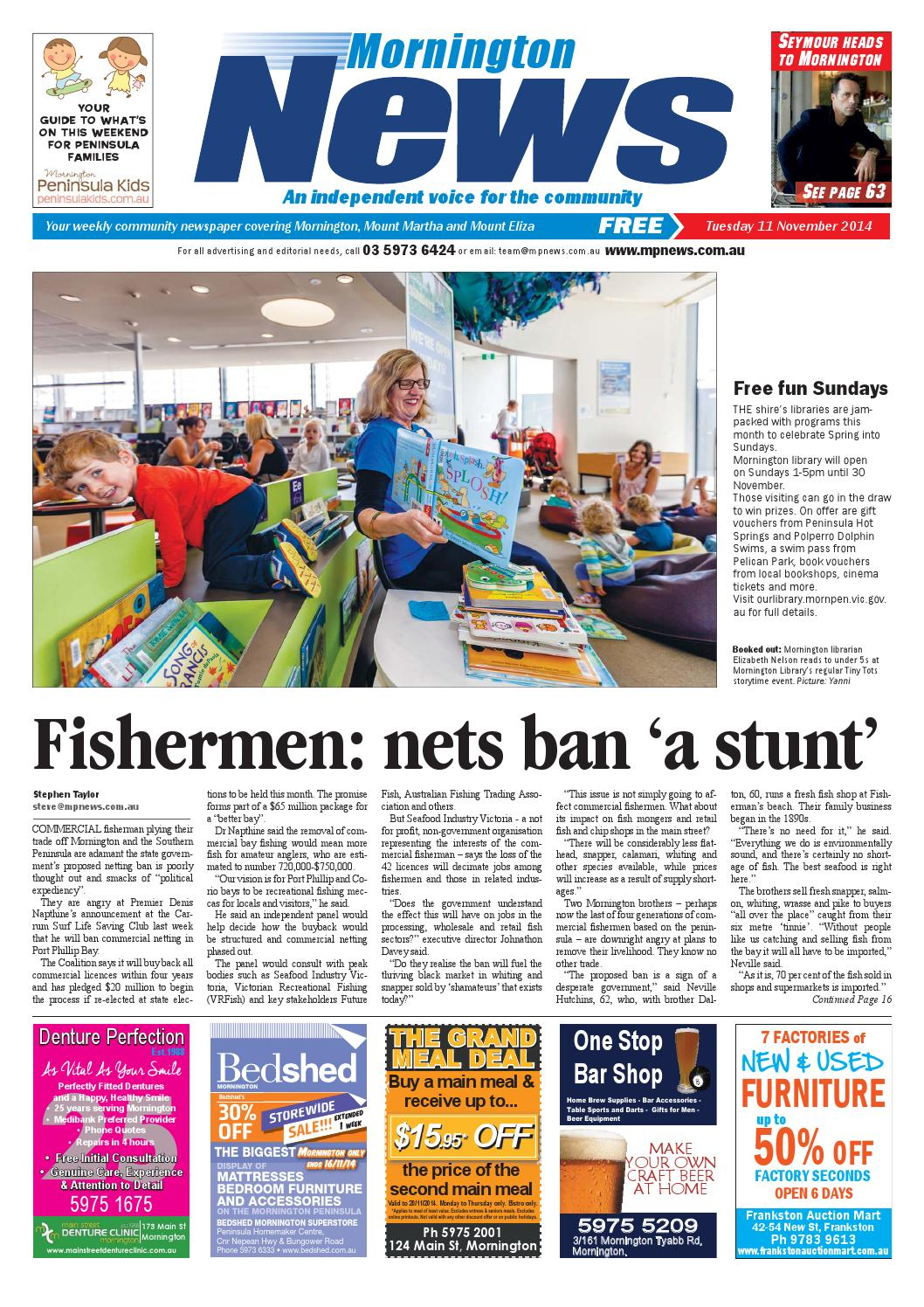 Bedshed Melbourne 11th November 2014 By Mornington Peninsula News Group Issuu
