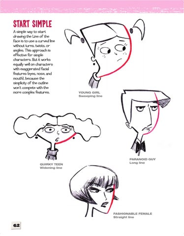 Cartoon Faces How to Draw Heads, Features  Expressions (Cartoon