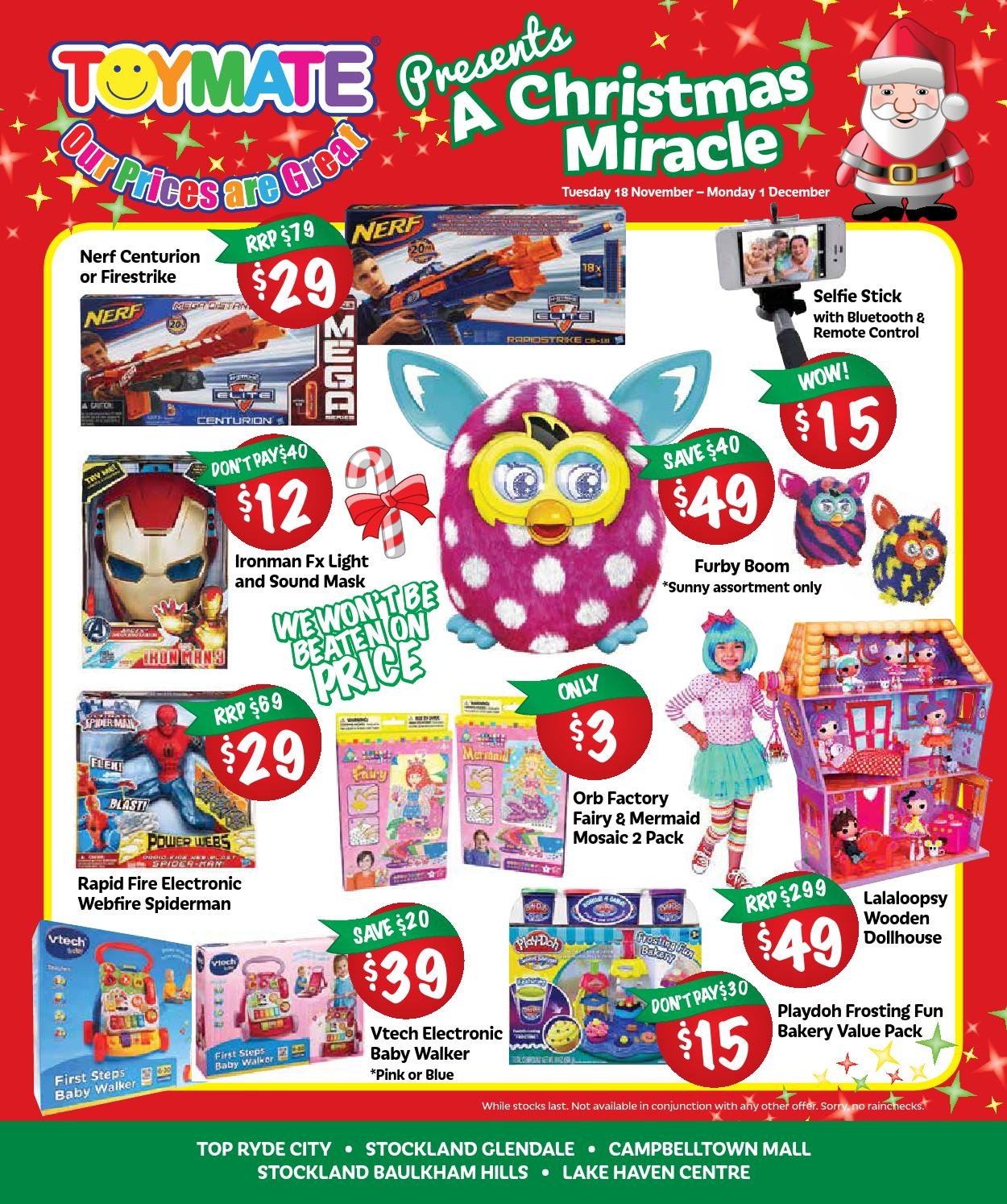 Baby Store Campbelltown Toymate 2014 Xmas Sale Catalogue By Inga Barbuto Issuu