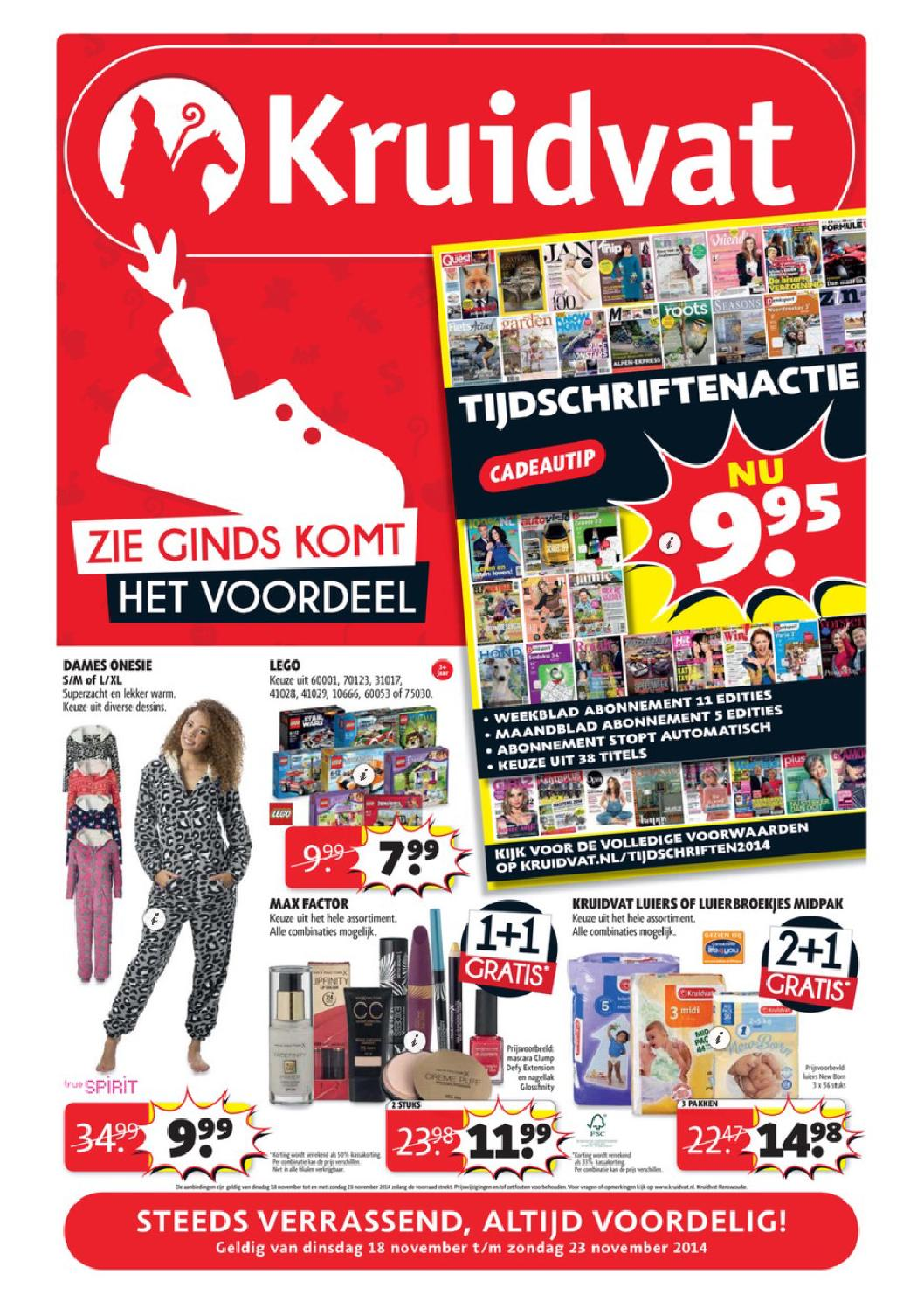 Kruitvat Aanbieding Kruidvat Folder Week 47 By Online Folders Issuu