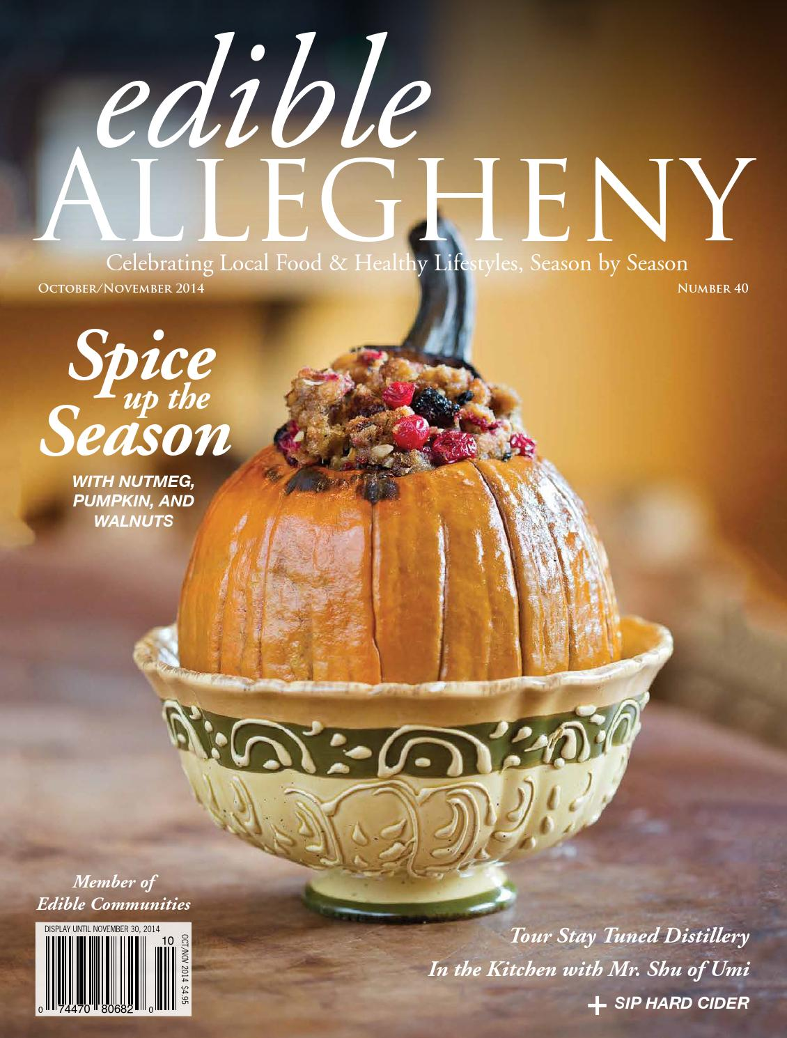 Cucina Alessi Catering Menu Edible Allegheny October November 2014 By Whirl Publishing Issuu