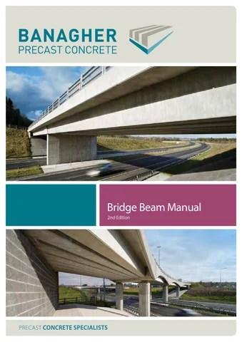 Bridge beam manual by Banagher Precast Concrete - issuu