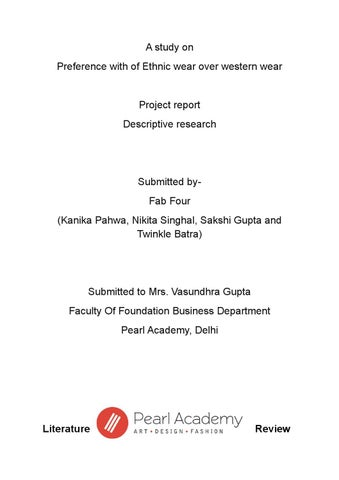 Research Project by Sakshi Gupta - issuu - research project report