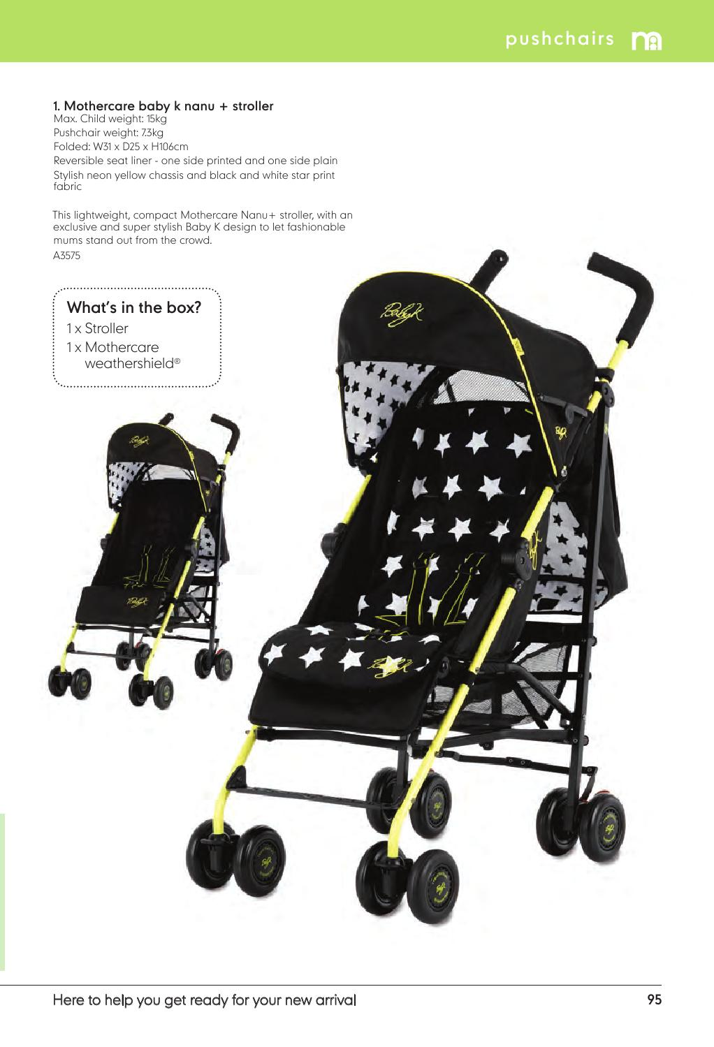 Compact Stroller Singapore Mothercare Singapore Catalogue 2015 2016 By Mothercare Sg