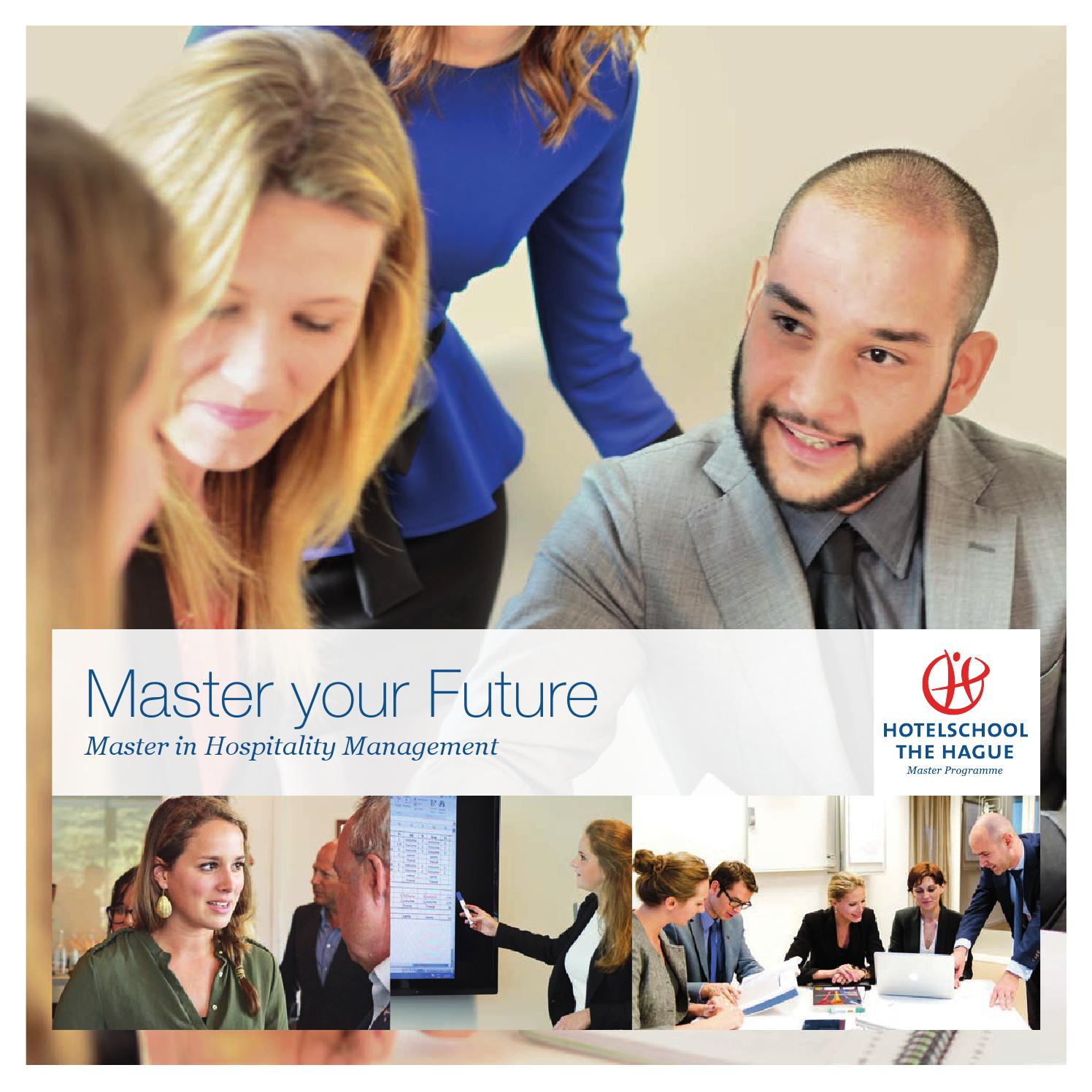 Hotelschool The Hague Master Brochure 2015 By Hotelschool The Hague Issuu