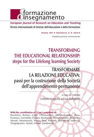 TRASFORMARE LA RELAZIONE EDUCATIVA by Pensa Multimedia - issuu