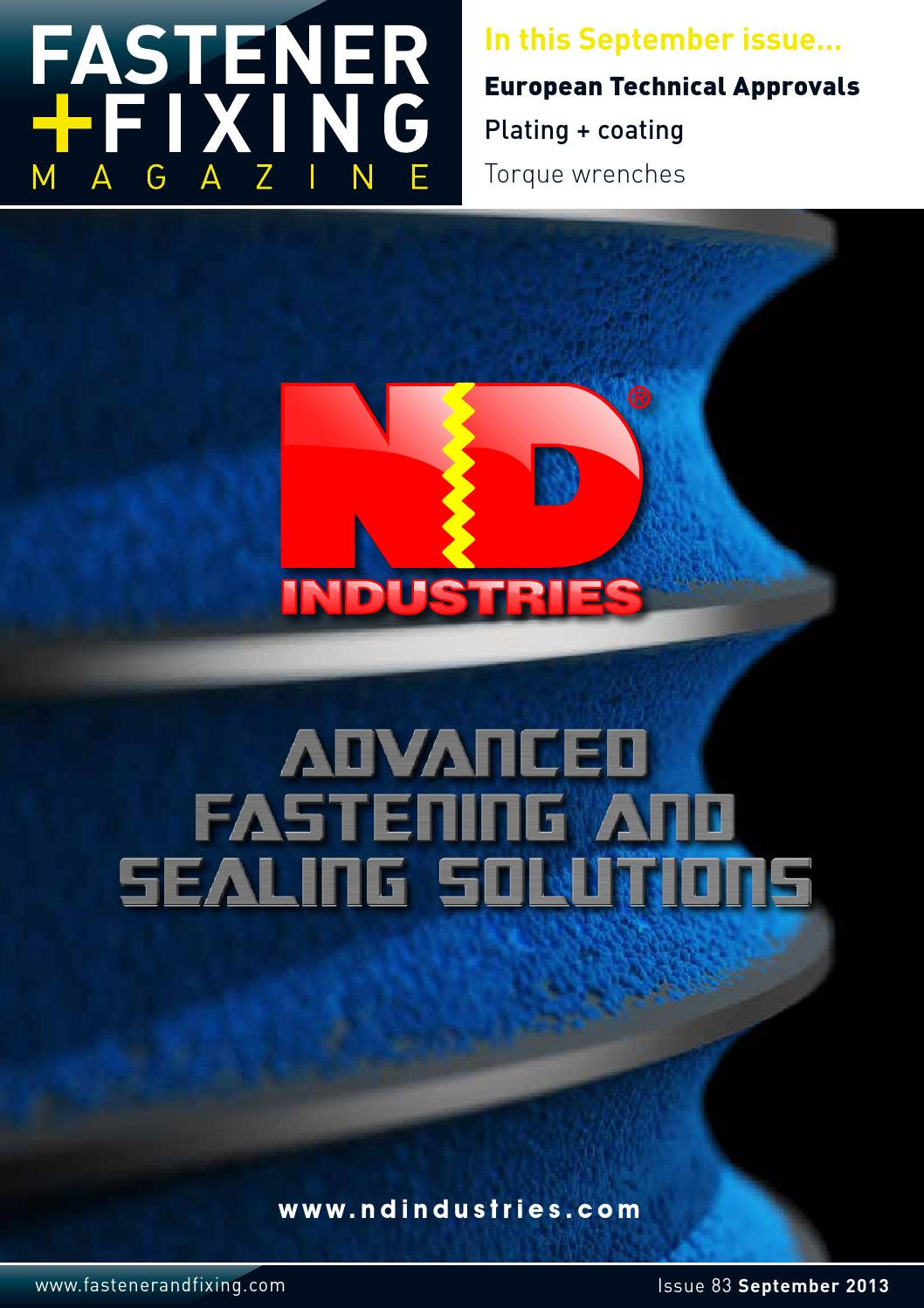 Advanced Solutions For Growing Companies Mmk Systems Fastener Fixing Magazine 83