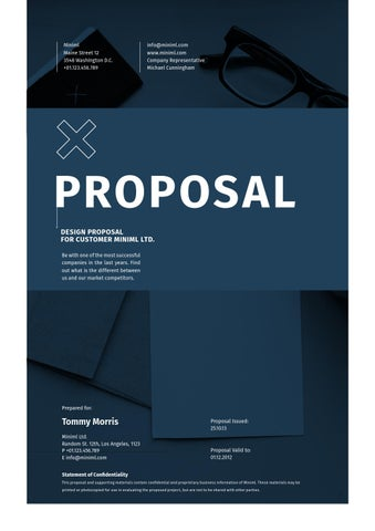 Minimal Design Proposal by egotype - issuu