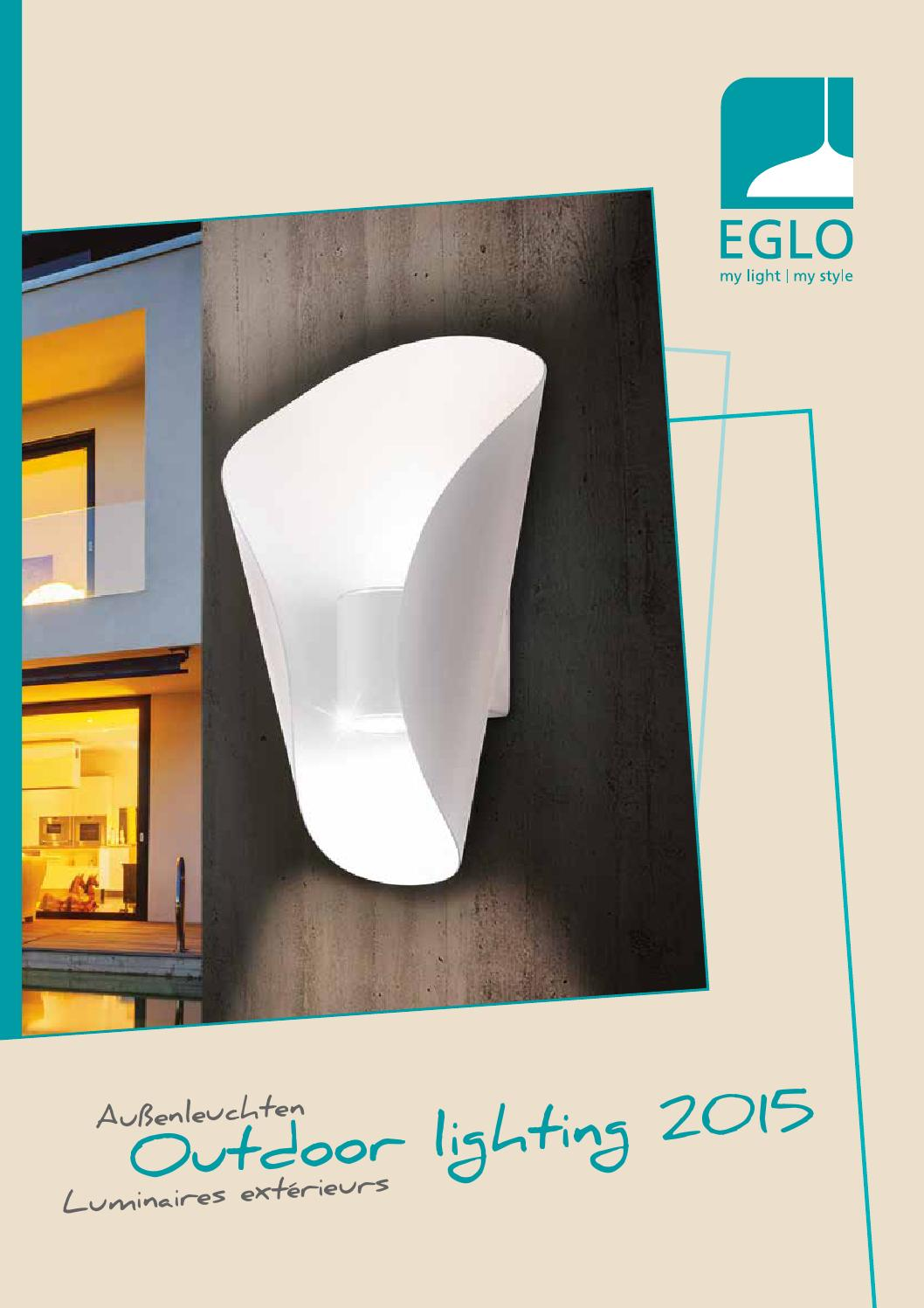 Eglo Verlichting Made Eglo Outdoor Lighting 2015