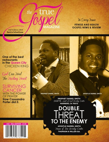 True Gospel Magazine August 2014 Edition by Stacey Bowers - issuu