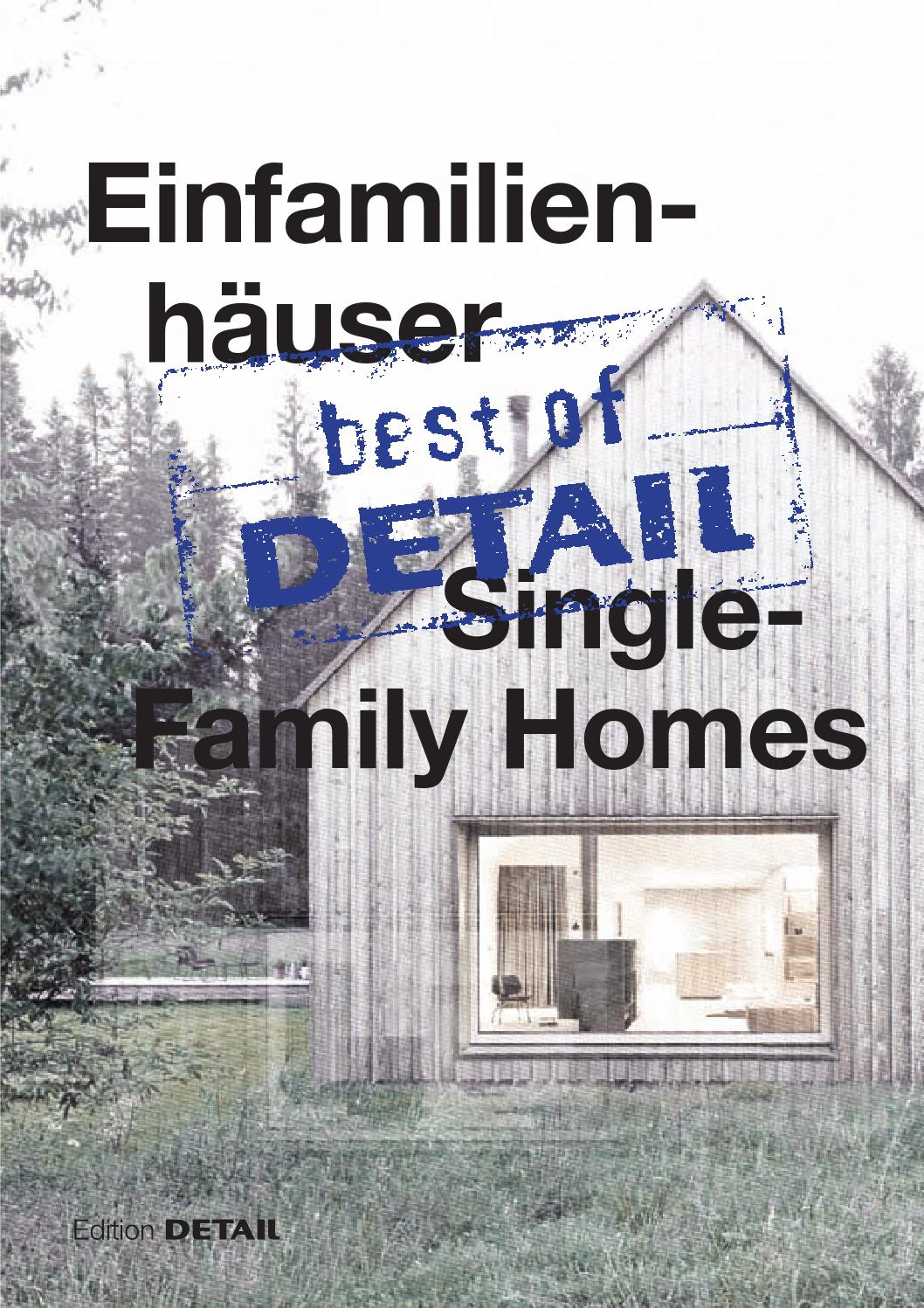 Massivholzhaus Richard Best Of Detail Single Family Homes By Detail Issuu