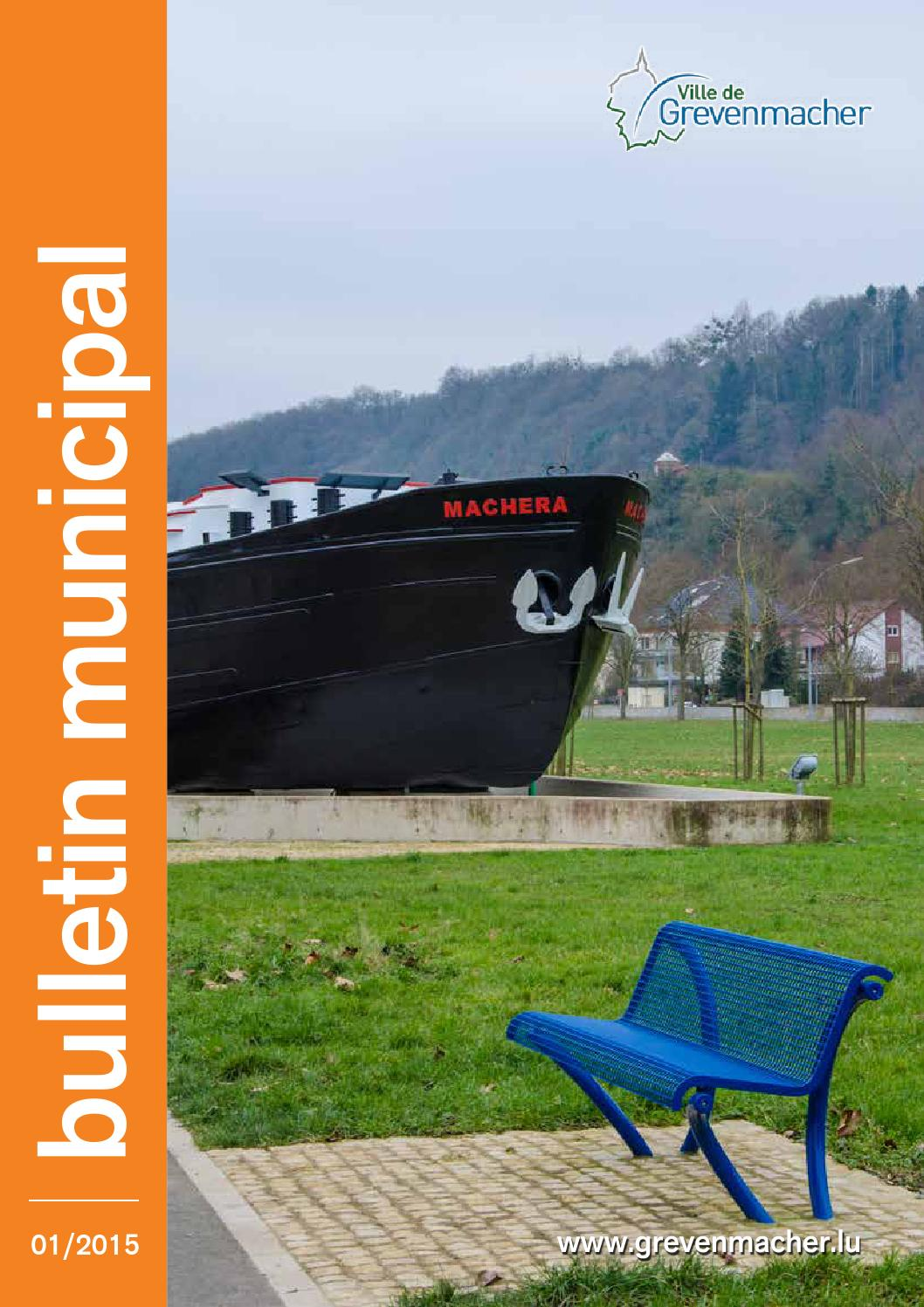 Bulletin Municipal 01 2015 By Ville De Grevenmacher Issuu