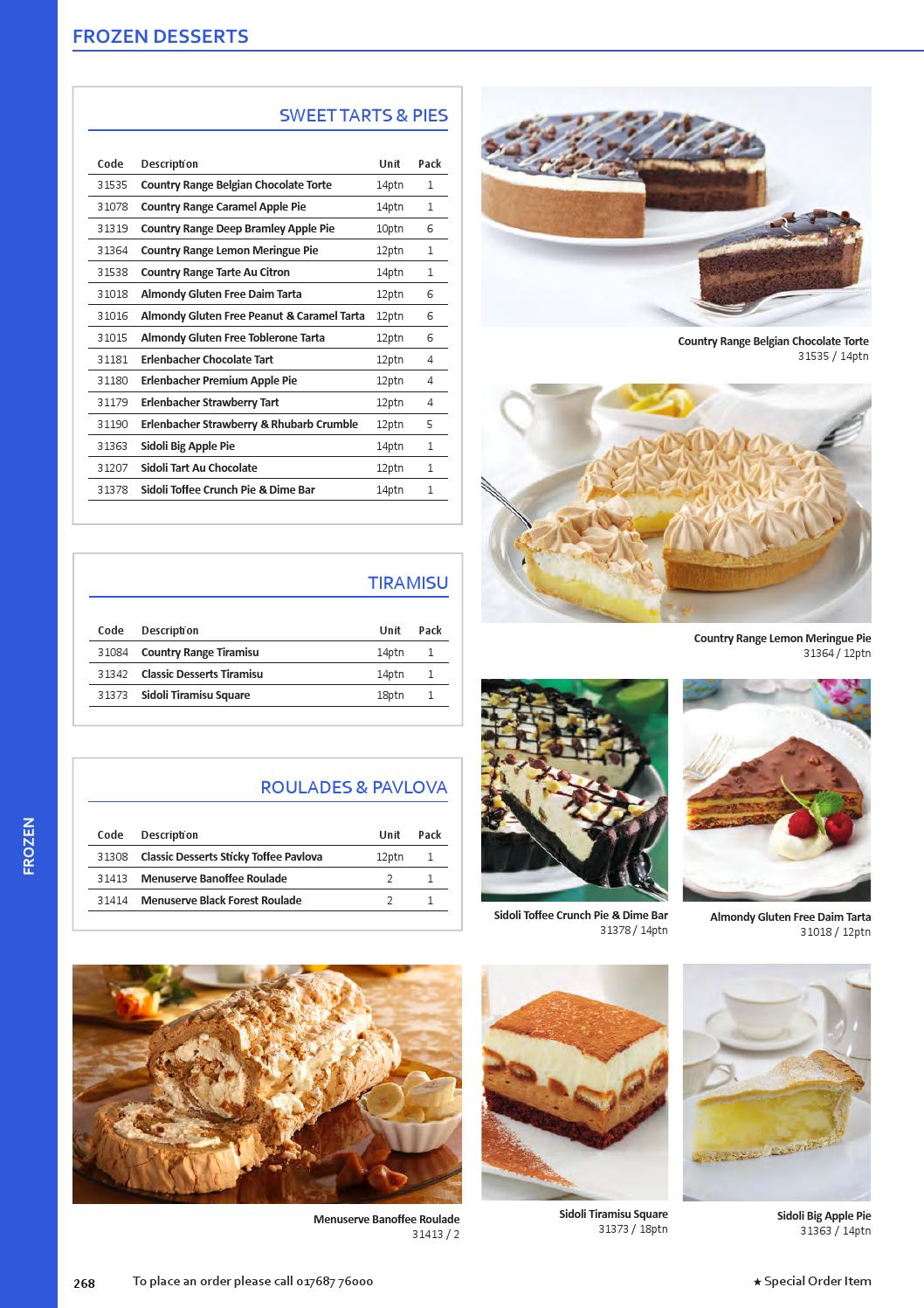 Almondy Torte Caterite Foodservice Product Guide 2015 16