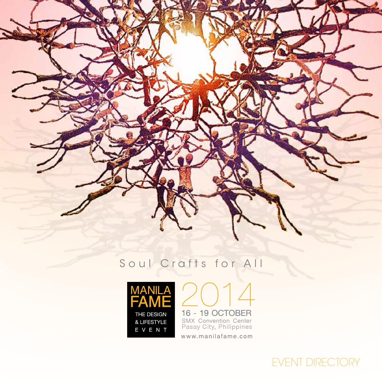 Arte Et Marte Cs Go Manila Fame Event Directory October 2014 By Manilafame Issuu