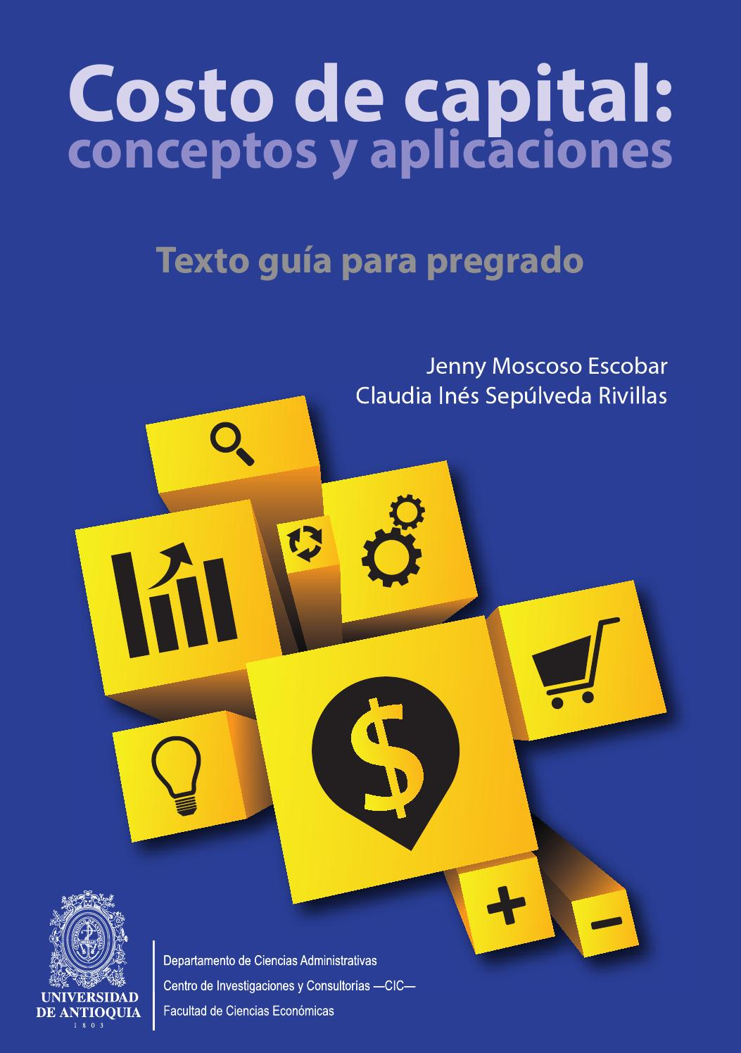 El Capital Libro Libro Costo De Capital Conceptos Y Aplicaciones By