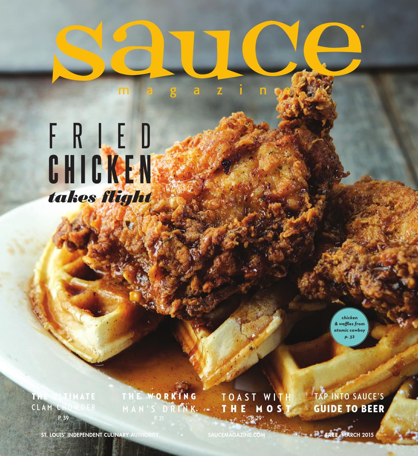 Cuisine Royale Brightness Too High March 2015 By Sauce Magazine Issuu