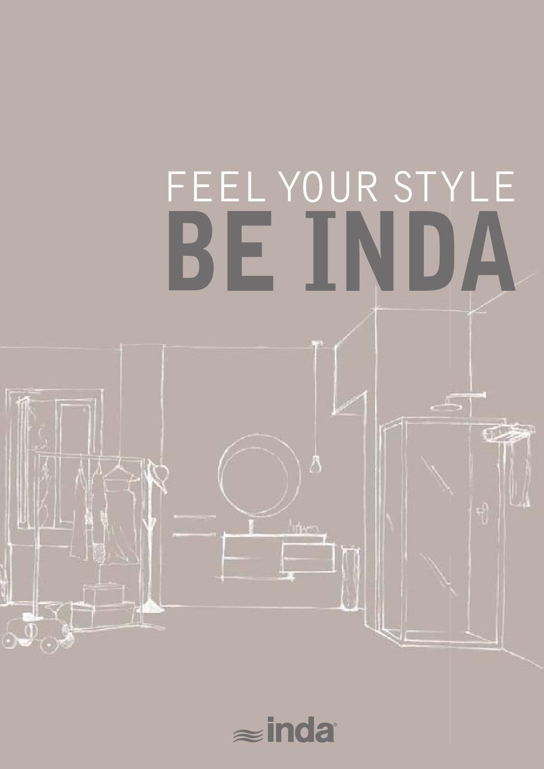 Aufsatzwaschbecken Inda Feel Your Style Be Inda 2015 By Thehouseofmouse Srl Issuu