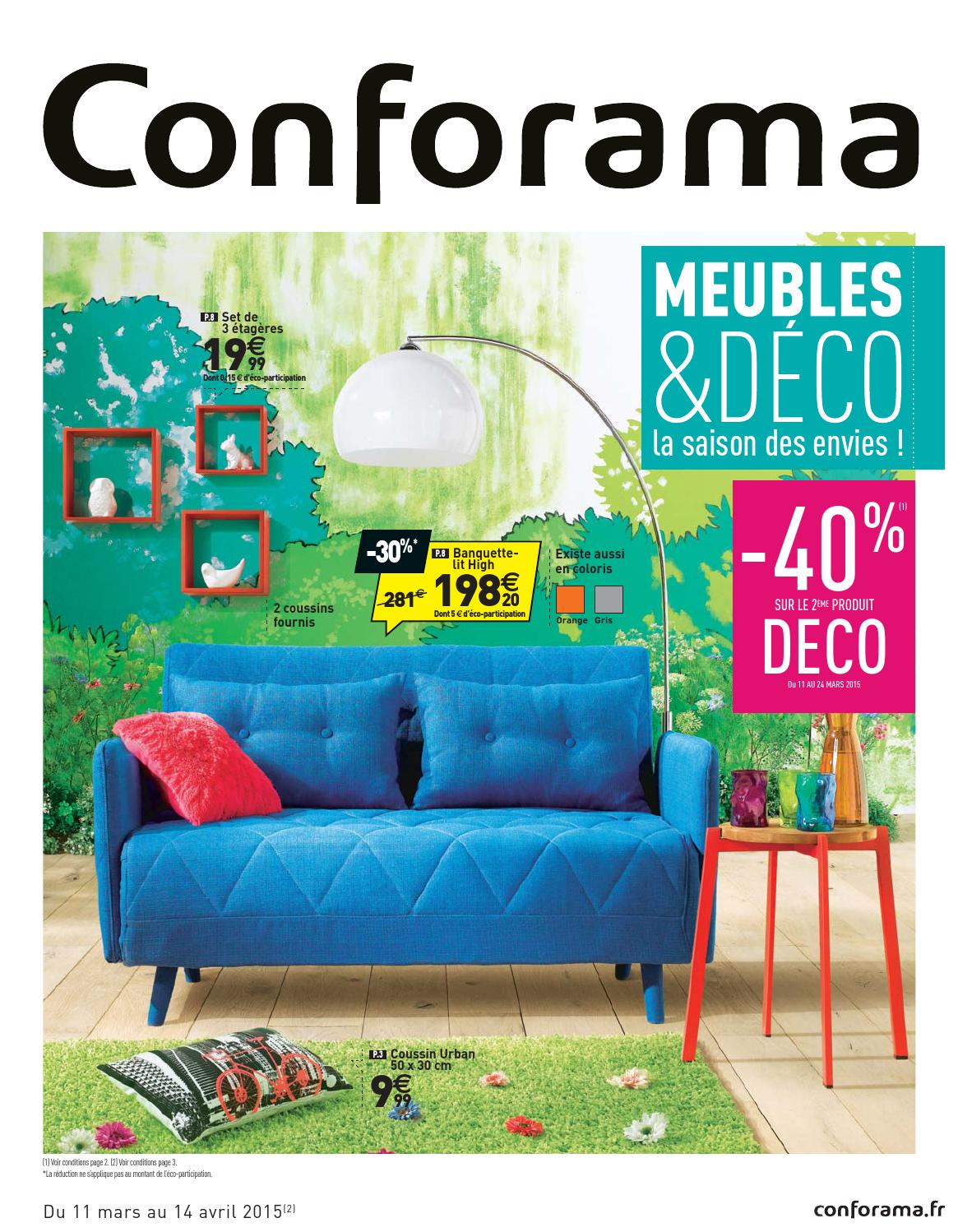 Conforama Catalogue 11mars 14avril2015 By Promocatalogues Com Issuu