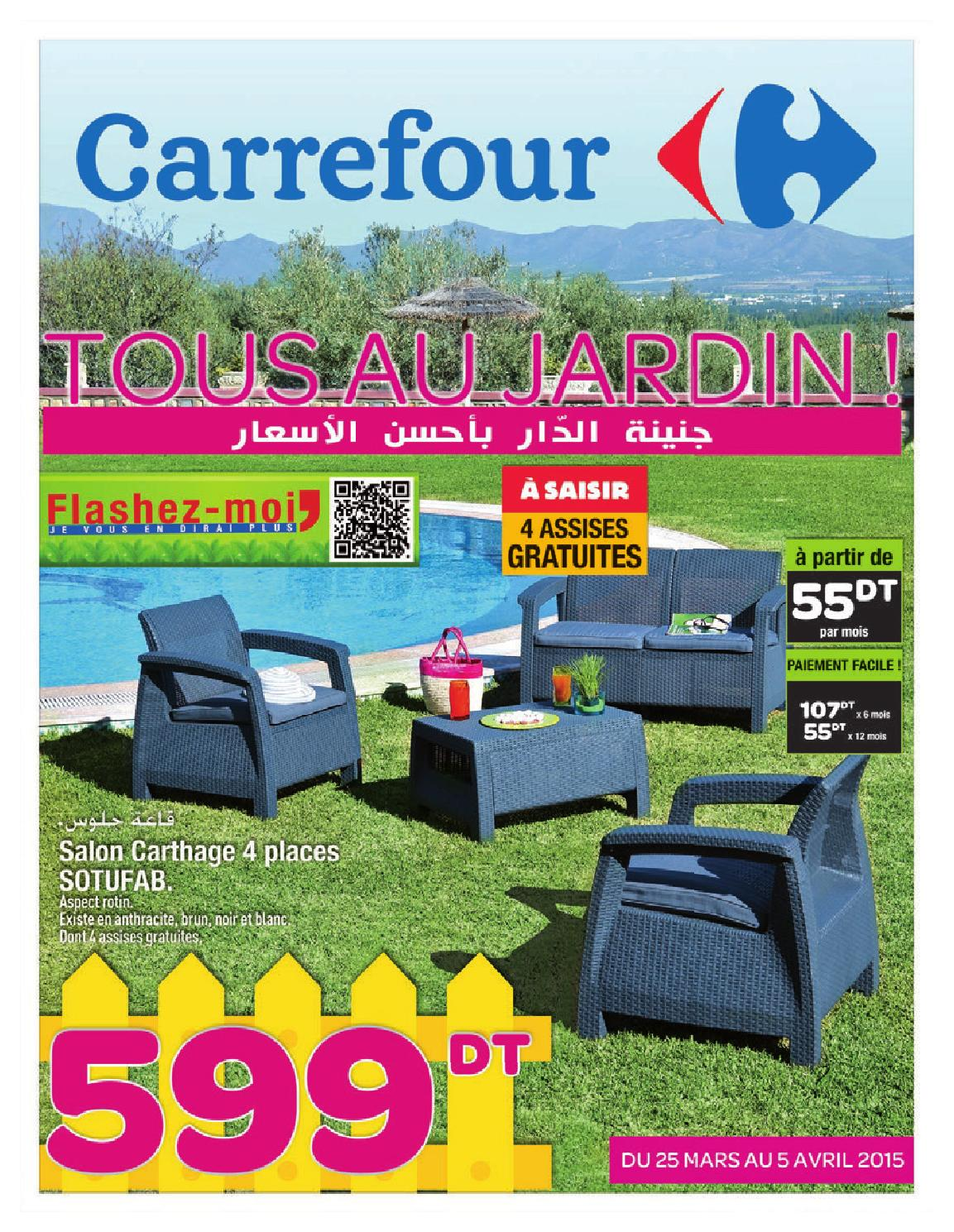 Location Chaise Tunisie Catalogue Carrefour