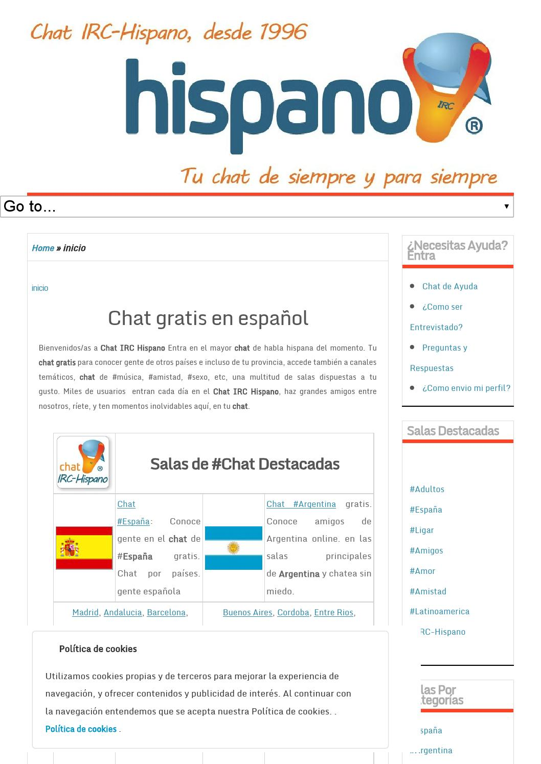 Gratis Chat Chatear Gratis Chat Irc Hispano By Chatirchispano Issuu